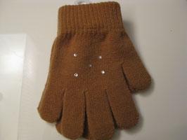 Jerry's Handschuhe Kinder mit Strasssteinen