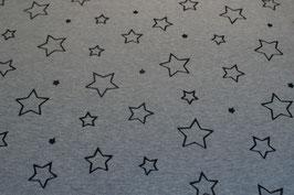 Sterne gross, grau