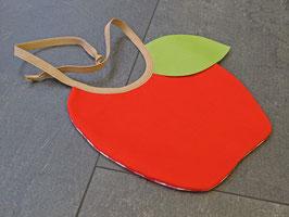 Öpfel-Lätzli, rot und kariert