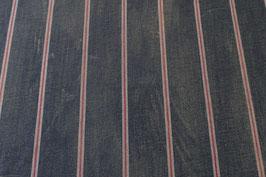 Jeans-Streifen, rot/weiss