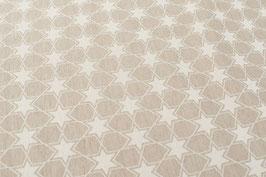 Sterne-Muster, beige