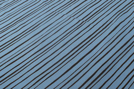 Streifen, hellblau/braun