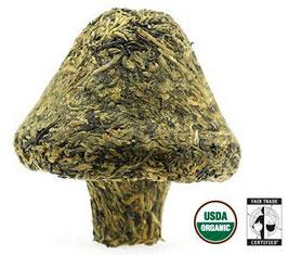 Tibetan Golden Mushroom, Organic Fair Trade Pu-erh Tea