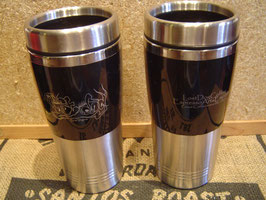 "LostDogCoffee ""Graffiti"" Logo 16 ounce Travel Mug"