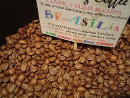 "BRASIL Estate Bourbon Santos Screen 16/17. Traditional ""cinnamon"" roast"