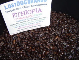 ETHIOPIA Yerg'cheefe' Oromia Cooperative AA+ Dry processed Organic