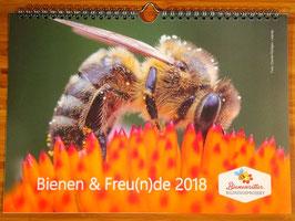 Bienen-Fotokalender 2018