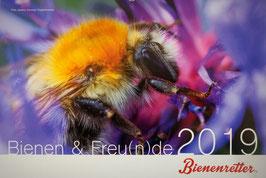 Bienen-Fotokalender 2019
