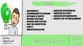 7.Klasse BwR- editierbare Präsentationsfolien für 12 Unterrichtseinheiten - Einzellizenz