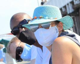 Stoffmaske 2lagig anti-mikrobiell