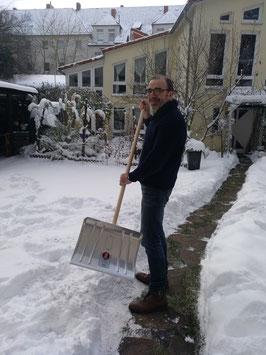 Schneeschieber Alu