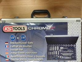 Chrome Plus Steckschlüssel-Satz