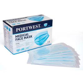 Mund-Nasenschutz medizinisch einzeln verpackt