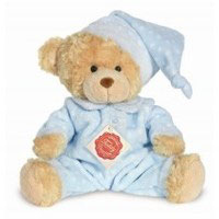 Teddy Hermann Teddy hellblau/ rosa