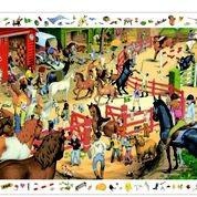 Puzzle Reitsport von Djeco