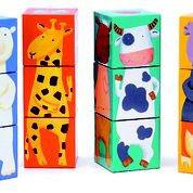 Puzzle Djeco Lustige Tiere aus Holz