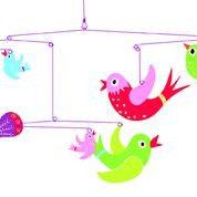 Djeco Mobile Vögel