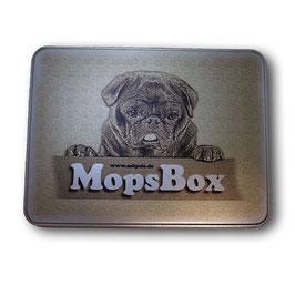 MopsBox - bedruckte Metaldose