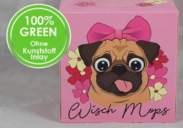 """""""WISCH-MOPS"""" - Kosmetiktücher-Box Einzelpackung"""