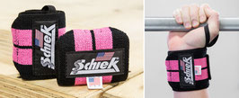 Schiek Wrist Wraps 1112 in pink