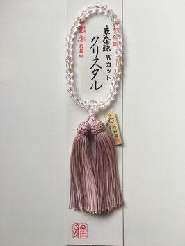 クリスタル 略式数珠