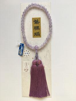 紫瑪瑙 略式数珠
