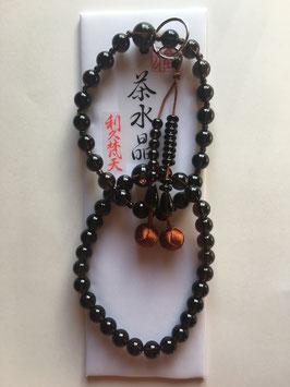 茶水晶 浄土宗用 本式数珠