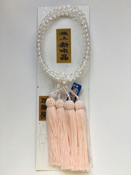 新水晶 八宗兼用 本式数珠