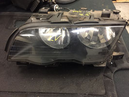 Koplamp BMW E46 sedan en touring linksvoor