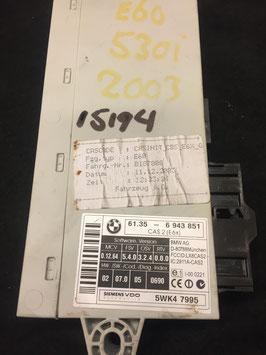 CAS 2 module BMW E60 530i 2003 oem 6943851