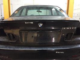 Achterklep BMW E46 330CI BLACK SAPHIRE
