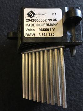 Kachelweerstand BMW E39 , BMW onderdeel 6931680
