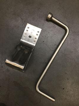 Wielsleutel en wegrijblok BMW X3 E83