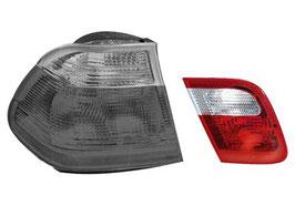 Achterlicht binnenste deel links en rechts BMW E46 sedan  pre facelift tm 2001  , links oem 63218364923 , rechts oem 63218364924