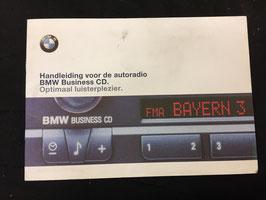 Handleiding BMW E46 Radio Nederlands