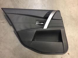 Deurpaneel BMW E60 E61 links achter leer