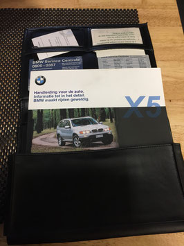 Instructieboekje BMW X5 E53 3.0i en 4.4.i