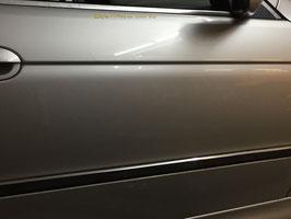 Deur BMW E39 SEDAN en Touring rechtsvoor Titanasilber