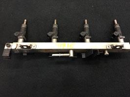 Brandstofrail BMW E46 316i 318i n42 motor met injectoren oem 7506158