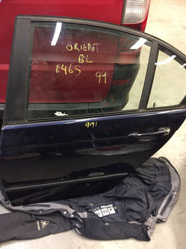 Deur BMW E46 Sedan Orientblau Links achter