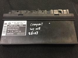 Comfort module BMW E61 2005 oem 6957143
