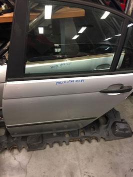 Deur BMW E46 sedan links achter Titansilber metallic