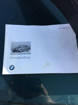 Handleiding BMW E36 Nederlands