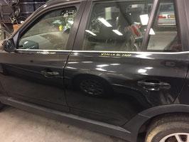 Linker  voordeur BMW X3 Black Sapphire metallic