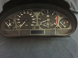 Kilometerteller Dashboard BMW E46 330d
