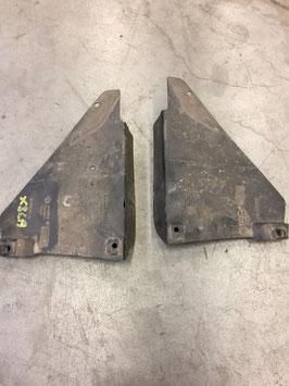 Bodemplaat wielkuip links en rechts achterzijde BMW X3 E83