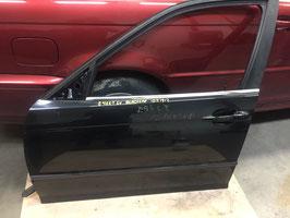 Deur links voor BMW E46 sedan en touring Black Sapphire metallic