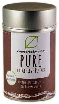 """Bio-Zunderschwamm """"PURE"""" Vitalpilzpulver 30g Dose"""