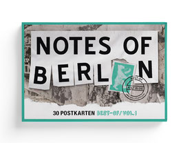NOTES OF BERLIN Postkartenbox
