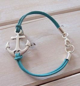 Ankerarmband türkis